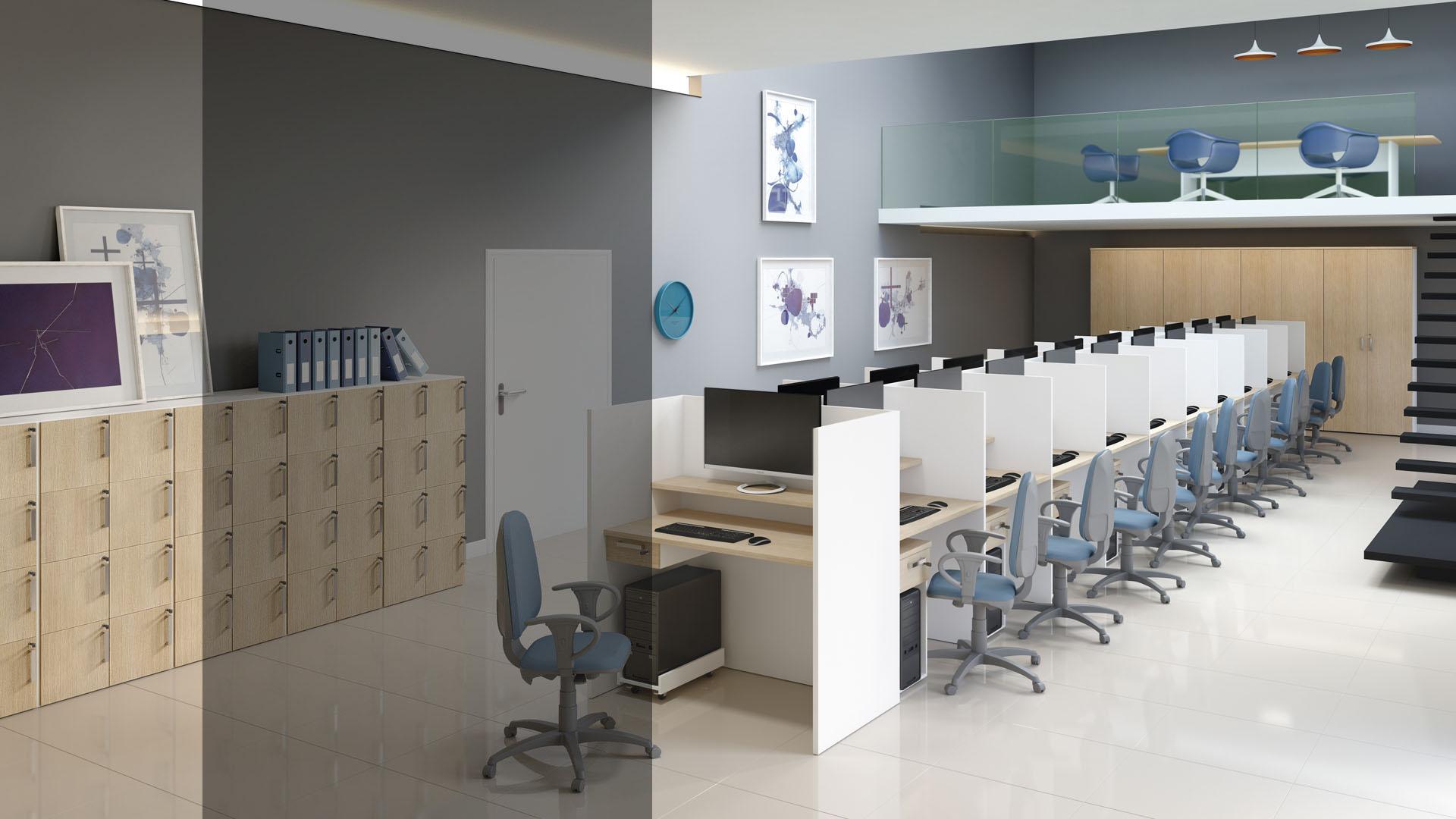 escritório planejado